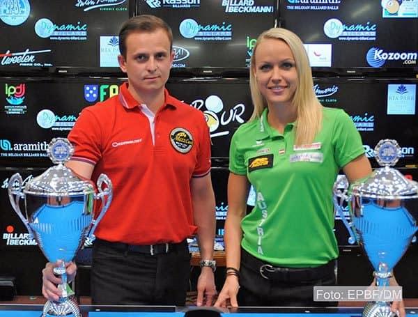 Mateusz Sniegocki (POL) and Jasmin Ouschan (AUT)