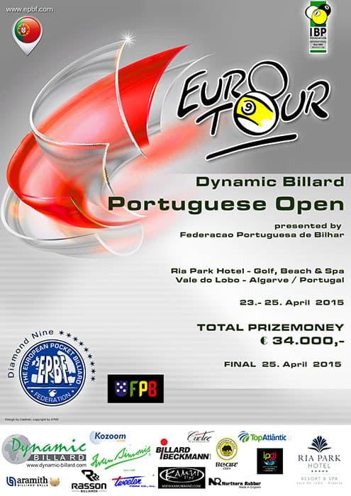 Euro-Tour Portugal Open 2015