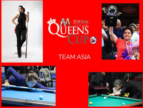 AM8.com Queens Cup 2015 Team Asia