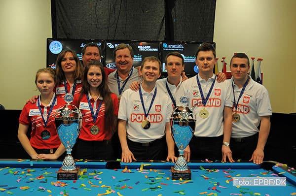 EPC 2015 Team Champions Poland and Russia