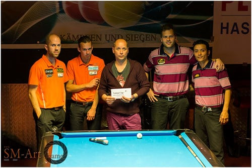 Team Holland Nick van den Berg & Marco Teutscher / Team Schweiz Dimitri Jungo & Ronald Regli