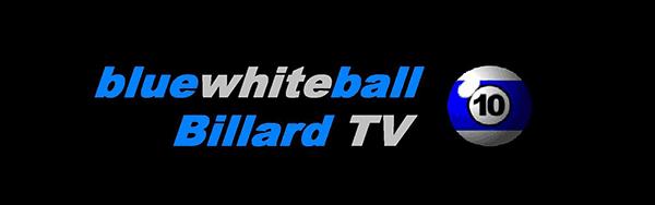 bluewhiteball - Billard TV