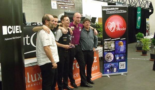 Gewinner des Team Wettbewerbs beim Ardennen Cup 2015.