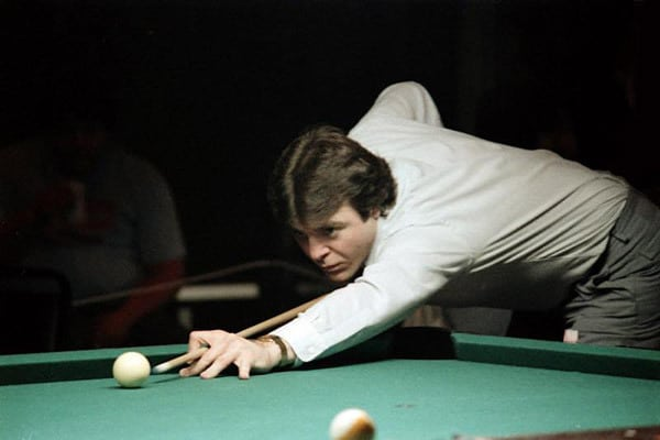 """""""That was the greatest straight pool I've ever seen played""""- Luther Lassiter, multi World 14.1 Champion, had said after being defeated in a 1000 point match for $5000 in 1970 against an unknown teenager named Allen Hopkins - photo by Bill Porter"""
