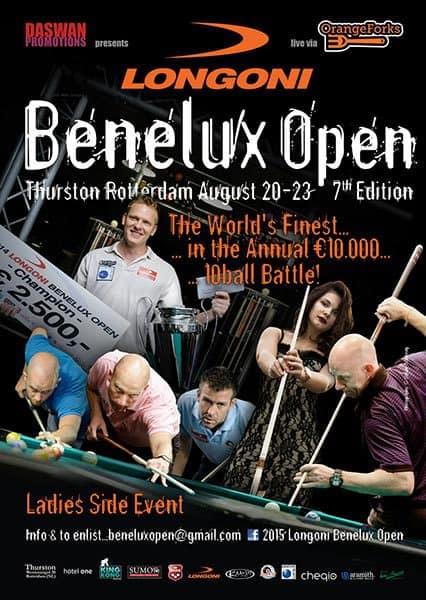 2015 LONGONI Benelux Open