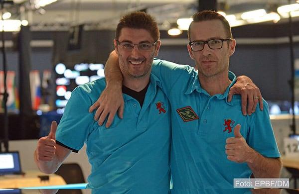 Team Luxemburg Steve Leisen und Marc Glatz