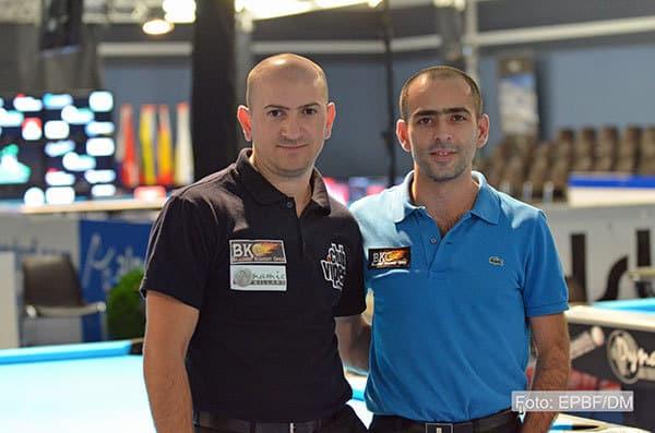Team Rumänien Ioan Ladanyi und Babken Melkonyan