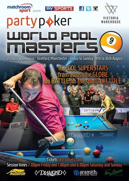 2015 PartyPoker World Pool Masters