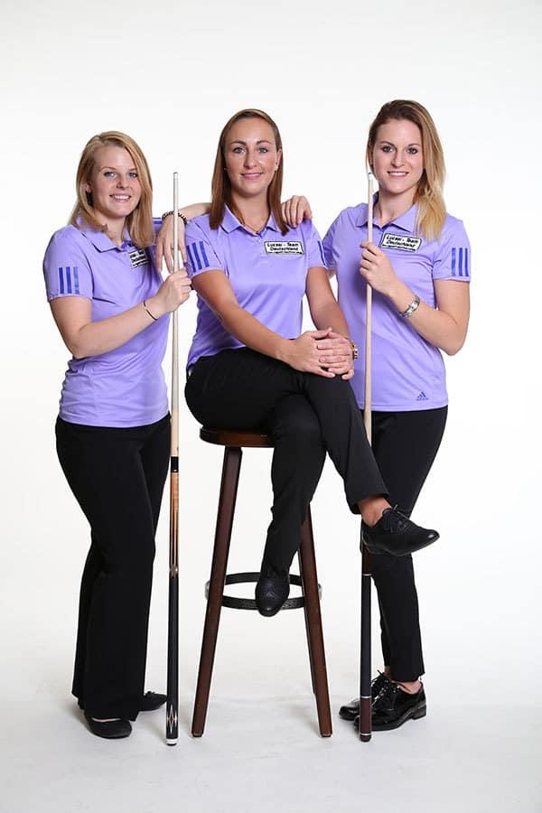 Ina Kaplan, Kristina Schagan und Jasmin Michel