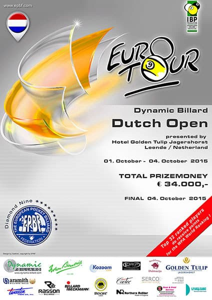Dutch Open 2015