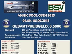 Magic Pool Open 2015