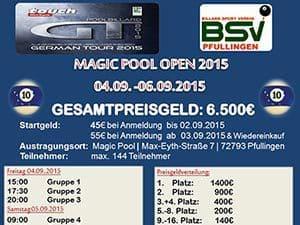 Magic Pool Open 2015