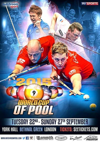 Dafabet World Cup of Pool