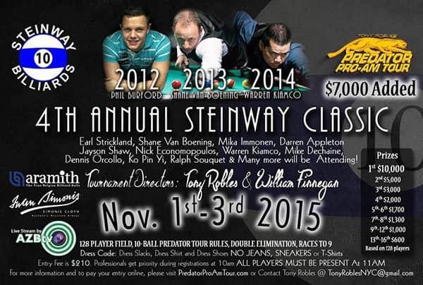 4th Annual Steinway Classic 2015