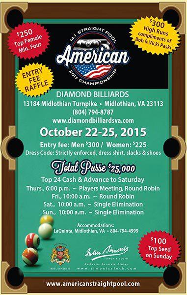 American 14.1 Straight Pool Championship 2015