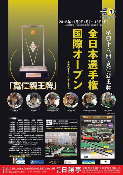 48th All Japan Championship 2015