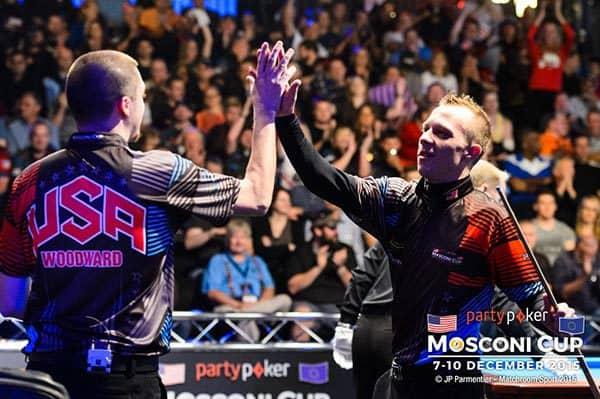 Skyler Woodward & Justin Bergman (Team USA)