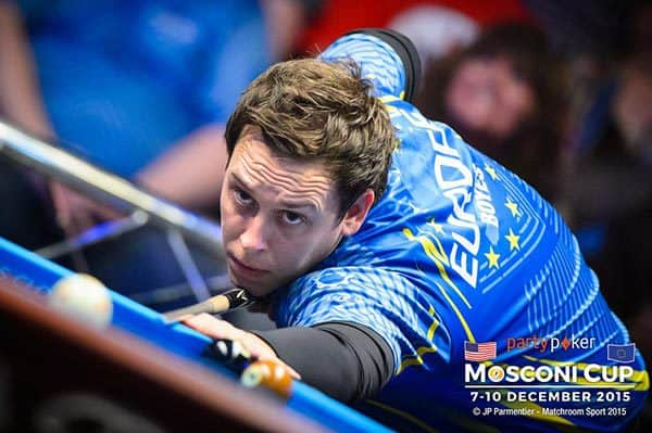 2015 PartyPoker Mosconi Cup - Europe increases lead but America ...