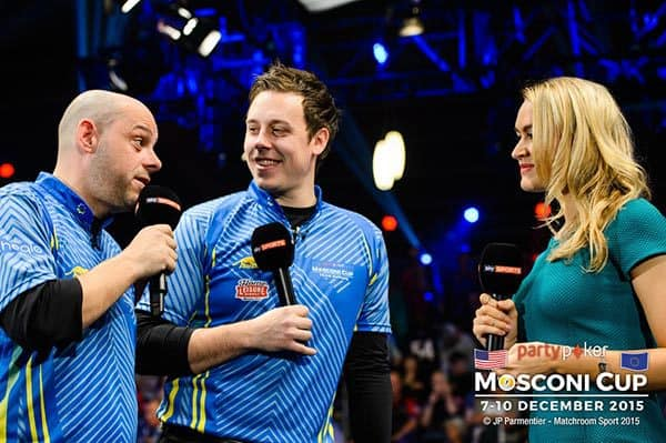 Darren Appleton & Karl Boyes (Team Europe)