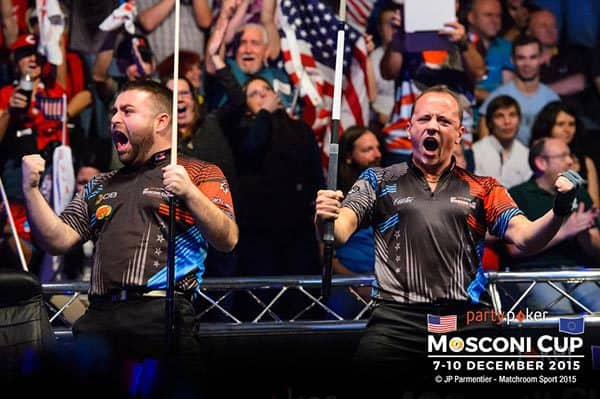 Mike Dechaine & Shane Van Boening (Team USA)