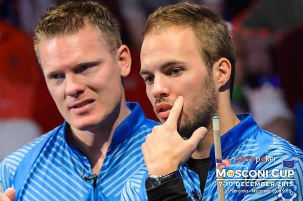 Niels Feijen & Albin Ouschan (Team Europe)