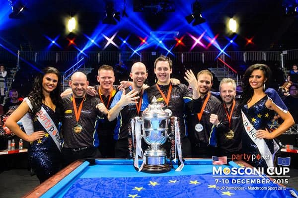 Mosconi Cup 2015 Champion Team Europe