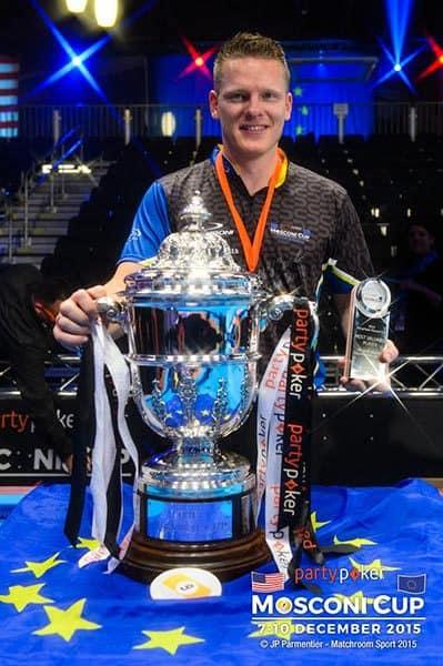 Mosconi Cup 2015 MVP Niels Feijen