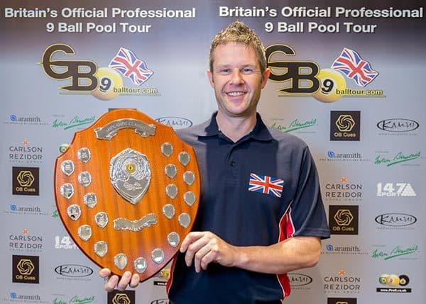 2015 GB9 Midlands Classic Champion, Mark Gray