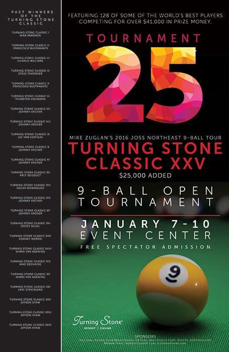 Turning Stone Classic XXV 2016