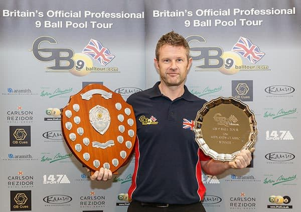 2016 GB9 Midlands Classic Champion, Mark Gray