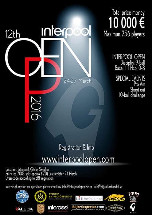 Interpool Open 2016