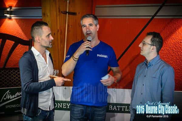 Team DCC - Martin Sawitzki, Harry Charalampidis and Gino De Ruyter