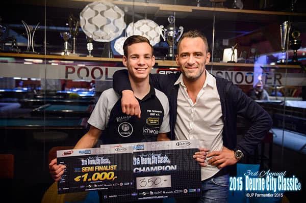 Martin Sawitzki with Joshua Filler from Germany