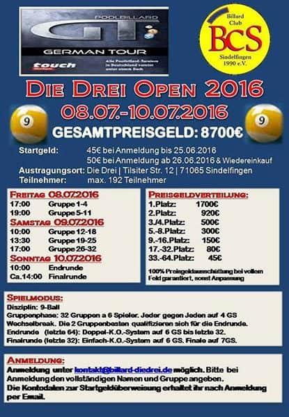 Die Drei Open 2016