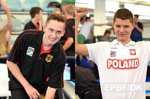 Patrick Hofmann (GER) and Wiktor Zielinski (POL) - Photo: EPBF