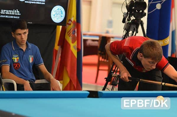 Maksim Dudanets (RUS) - Photo: EPBF