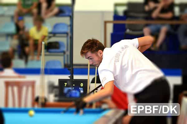 Kostas Koukiadakis (GRE) - Photo: EPBF