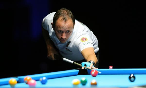 Shane Van Boening (USA) - Photos Courtesy of Vinod Divakaran/ Doha Stadium Plus & WPA