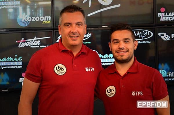 Team Portugal Rui-Edgar Franco (left) and Joao Grilo