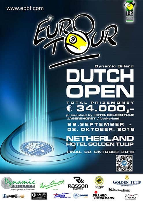 Dutch Open 2016