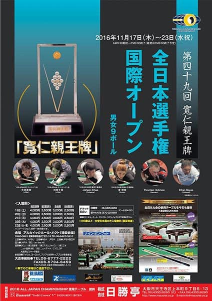 49th All Japan Championship 2016