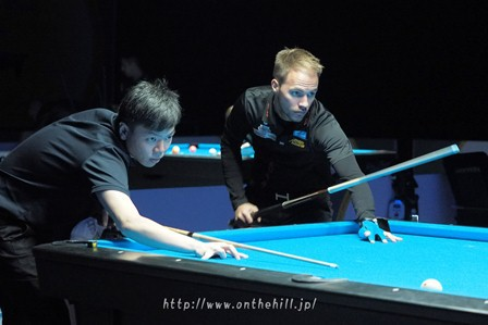 Wu Jiaqing (CHN) and Albin Ouschan (AUT)