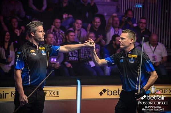 Mark Gray and Niels Feijen (Team Europe)