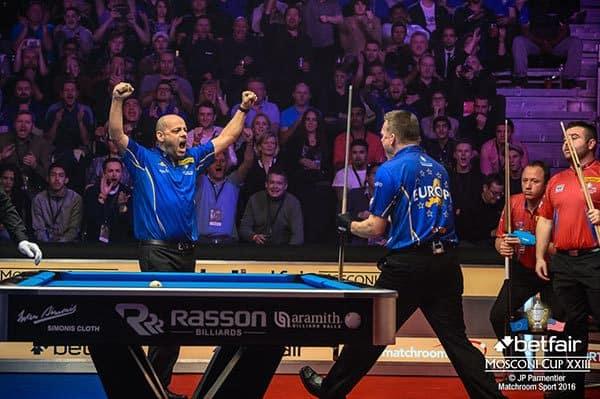 Darren Appleton and Niels Feijen (Team Europe)