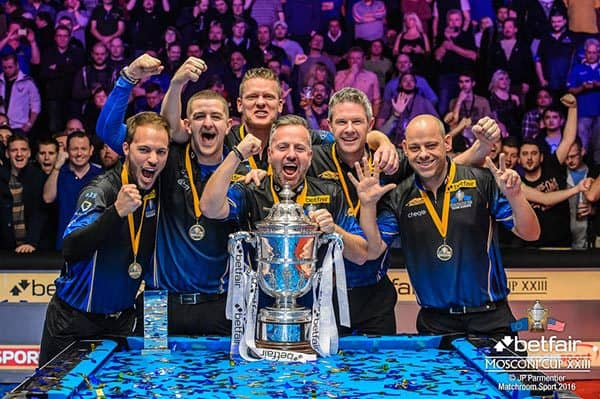 Mosconi Cup 2016 Winner Team Europe