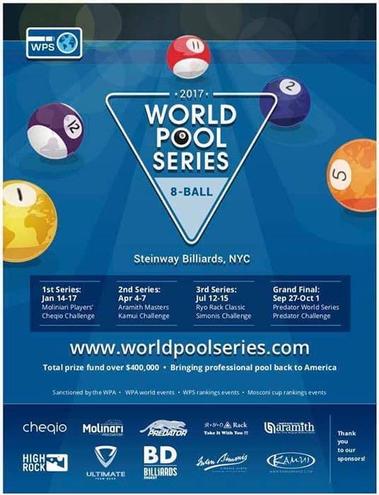 2017 World Pool Series