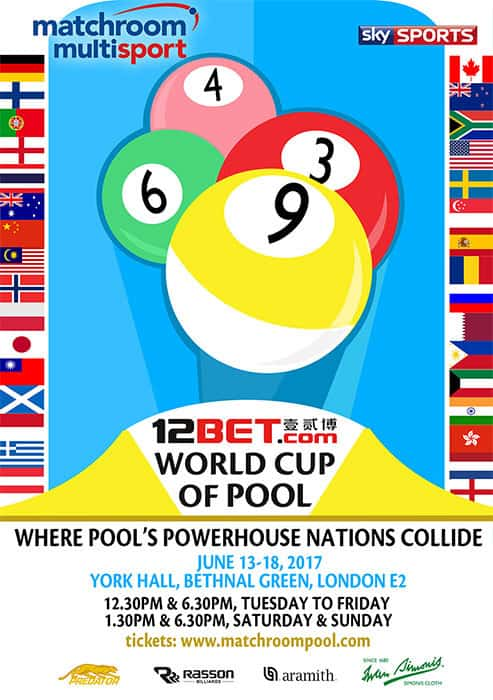 2017 12BET World Cup of Pool